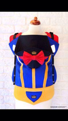 Madame GooGoo baby carriers: custom Snow White
