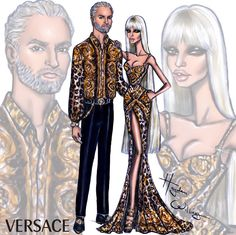 Gianni & Donatella #GianniVersace #DonatellaVersace #Versace