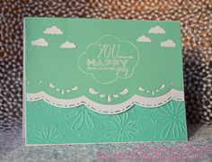 Live Love Laugh Scrap: Hero Arts Handmade Card