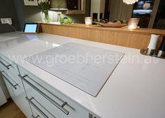 Ceranfeld, aufgesetzt, Platte Blanco Zeus poliert Silestone Blanco Zeus, Home, Countertop, Ad Home, Homes, Haus, Houses