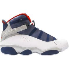 7dfbca0b2942 Air Jordan 6 Rings Olympic White Varsity Red Midnight Navy Metallic Gold  322992-161 $58.00