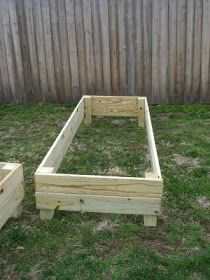 Anything Pretty: How-To: Raised Vegetable Garden Beds
