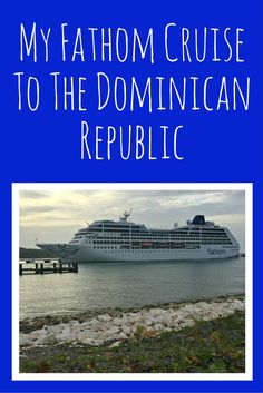 Visiting the Dominican Republic for 3 days and 2 nights was a blast. This was made possible by Carnival's newest cruise line, Fathom Cruises, option to the DR to offer volunteerism in the form of impact activities. Would you be interested in a cruise where you get to enjoy the beauty of the Caribbean but work while you were there?