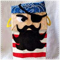 Paper Bag Pirate Craft This site has several pirate crafts.