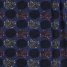 PaaPii Design - Rubus luomujersey, mustikka-vaaleanpunainen