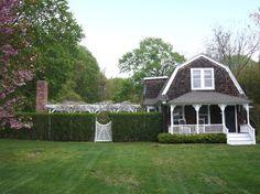 Sweet barn style home with amazing garden area.    SchappacherWhite Ltd. traditional exterior