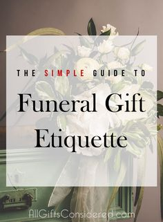 Should I bring a gift to a funeral? Memorial Gift Etiquette Explained Should I bring a gift to a funeral? Memorial Gift Etiquette Explained - All Gifts Considered Funeral Party, Funeral Gifts, Funeral Ideas, Funeral Memorial, Memorial Gifts, Memorial Ideas, Unique Sympathy Gifts, Funeral Etiquette, Grieving Gifts