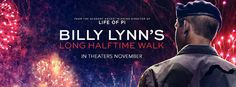 Magnífico segundo trailer de la incierta Billy Lynn's Long Halftime Walk
