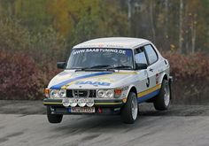 This 1982 Saab 99 Turbo is described as an ex-Per Eklund works style Group A rally car, its German language ad seeming to suggest the car has been partially prepared with help from both the famed factory driver and his former mechanic Jonas Enoksson. Saab Automobile, Saab Turbo, Saab 900, Rally Car, Classic Cars Online, Motor Car, Volvo, Peugeot, Cars For Sale