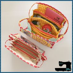 The Bionic Gear Bag and Sew Together Bag - Secret Sewing Society