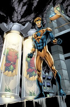 Booster Gold 22 by *DustinYee on deviantART