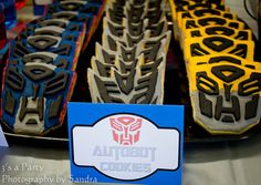 Transformers Birthday Party - Kara's Party Ideas - The Place for All Things…