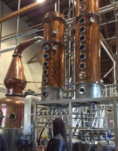 by Risa Nye Two things drew me to visit Spirit Works Distillery in Sebastopol: They serenade their barrels with music, and they have an all-female distillery team.