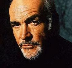 Sean Connery...they say bald is beautiful