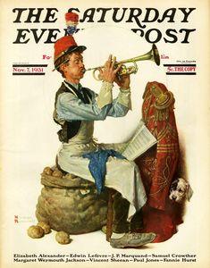 Norman Percevel Rockwell, Норман Роквелл, The Saturday Evening Post