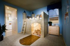 Image detail for -Boy's Bedroom with Castle Theme picture   stock photos Profimedia ...