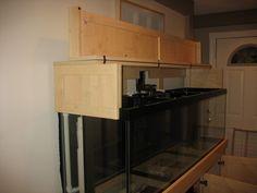 Aquarium Hood, French Door Refrigerator, French Doors, Kitchen Appliances, Furniture, Home Decor, Style, Diy Kitchen Appliances, Swag