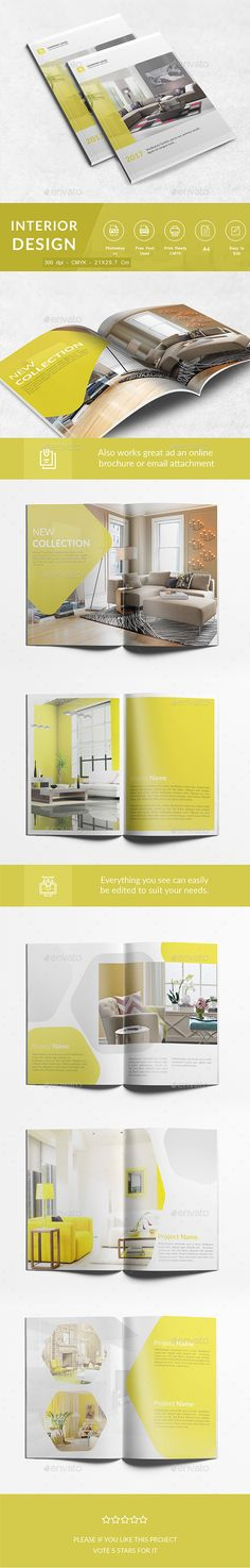 Interior Design A4 by mondoo INTERIOR DESIGN Square interior design catalog with a minimal and stylish look. which you can duplicate or reduce, and its minima