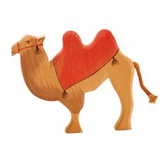 Ostheimer - The Kings Animals - Camel with Saddle - Honeybee Toys