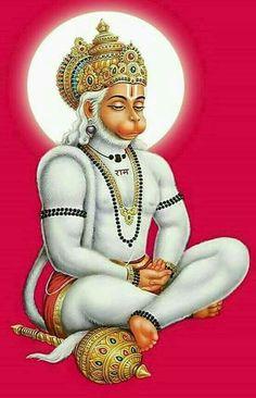 Hanuman is known to be immortal God. Reciting Hanuman Chalisa helps becoming confident, strong & fearless. Hanuman Ji Wallpapers, Lord Vishnu Wallpapers, Lord Shiva Hd Wallpaper, Lord Shiva Hd Images, Ganesh Images, Hanuman Images Hd, Hanuman Murti, Shri Ram Photo, Hanuman Tattoo