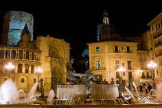 Valencia, you have my heart. Plaza de la virgen