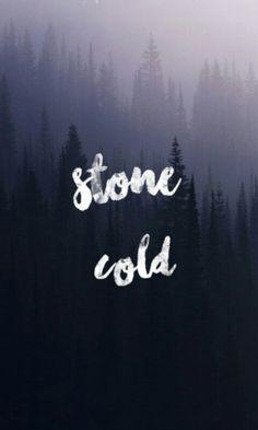 Stone cold my favorite sing w/ Demi Lovato ♥