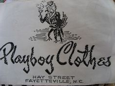 playboy clothes