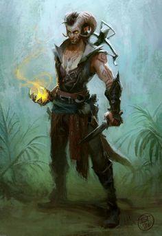 Zalakos Firebrand - NPC Bloodhunter; Malifaux's Guard