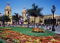 Centro histórico de la ciudad de Lima,Perú...la ciudad de los antiguos reyes.