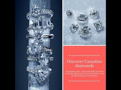 You imagine. We design. Check out Linara's Canadian Diamonds-Eskimo Arctic Ice Collection.