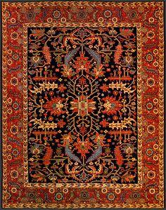 Afghan Heriz Oriental Rug #42514