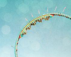 La tête à l'envers : montagnes russes et fêtes foraines de Paris 2013 en action