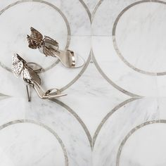 Highland Supernova Asian Statuary and Temple Gray Marble Tile $70.35 per sq ft