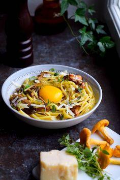 Spaghetti Recipes, Pasta Recipes, Cooking Recipes, I Love Food, Good Food, Yummy Food, Vegetarian Cooking, Vegetarian Recipes, Fresh Pasta