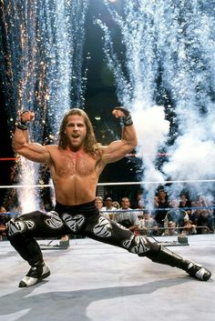 Shawn Michaels - Heart Break Kid --A cocky, confident heartbreaker from San Antonio, Texas, HBK started off his career as one half of The Rockers and ended it in a classic match with The Undertaker at WrestleMania XXVI.