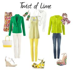 Twist of Lime trend by jayci-schmitt on Polyvore featuring CAbi, women's clothing