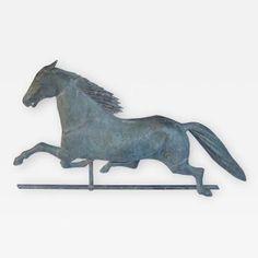 19 Century Dexter Horse Weathervane by   Cushing & White
