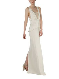 High Street Wedding Dress Iris Dress Ivory, Ghost, House of Fraser High Street Wedding Dresses, Best Wedding Dresses, Buy Cosmetics Online, Ethereal Beauty, Floor Length Gown, House Of Fraser, Luxury Beauty, Covered Buttons, Face And Body