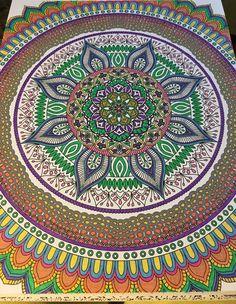 ColorIt Mandalas Volume 2 Colorist: Kathy Gold Shoemaker #adultcoloring #coloringforadults #mandalas #mandalastocolor