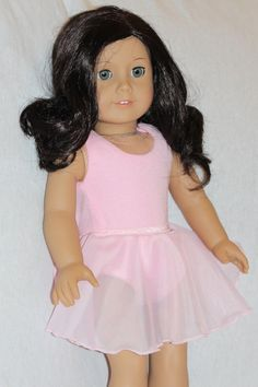 American Girl Ballet Costume for 18 Inch by DewdropDreams2012, $15.00