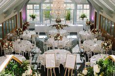 Wedding banquet at Botleys Mansion in Surrey Wedding Beauty, Luxury Wedding, Botleys Mansion Wedding, Wedding Venues, Wedding Day, Wedding Decorations, Table Decorations, Surrey, Banquet