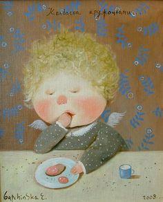 Поставщик счастья... Художница Евгения Гапчинская (95 фото - 3.70Mb) » Фото, рисунки