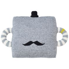 Blabla Pillow Hold Me Tight Mustache @Layla Grayce