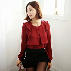 Lovely red blouse
