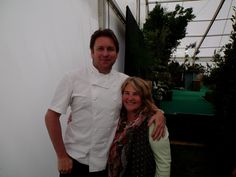 One of the loveliest, most down to earth fellas you could wish to meet. Always a joy to work with James Martin - this taken RHS Malvern Spring Festival May 2014