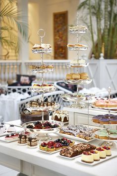 A decadent, traditional high tea.
