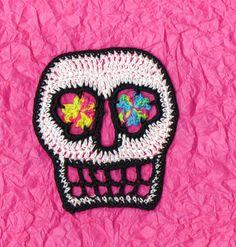 crochet sugar skull - Google Search