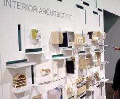 Architecture and interior exhibition display