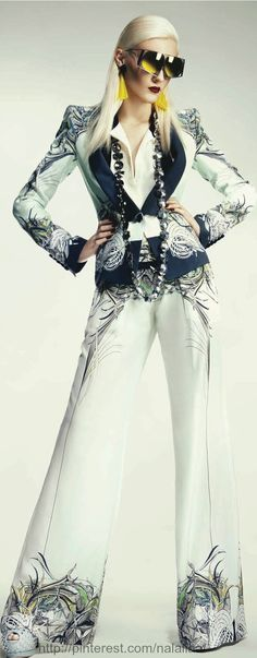 Marina Streb photographed by Jenny Brough for Gloss Slovenia June 2013
