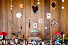 Festa na Floresta feita à mão! *  Handmade Woodland Party